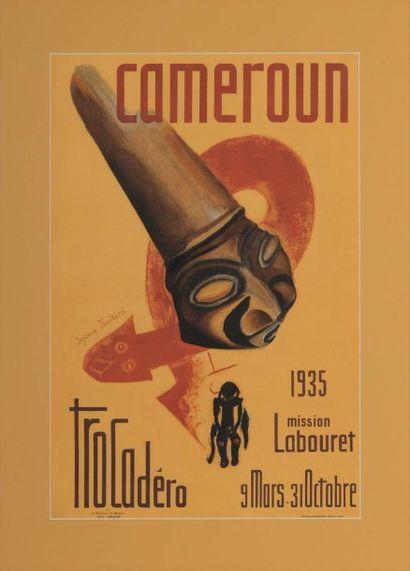 CAMEROUN, MISSION LABOURET, TROCADÉRO Artiste...
