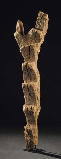 ECHELLE DOGON Mali Bois H_92 cm Ce type d'échelle...