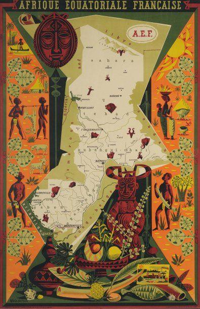 AFRIQUE EQUATORIALE FRANÇAISE Artiste : Alain...