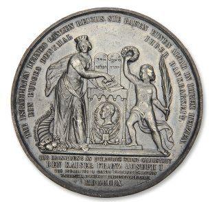 Médaille commemorative exécutée à l'occasion...