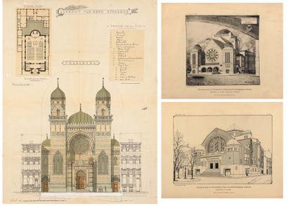 La synagogue d'Anvers