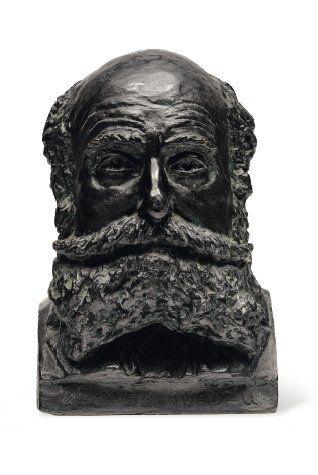 Buste du docteur Max Nordeau Bronze signé...