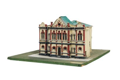Maquette de la Wijnitzer Klaus Synagogue...