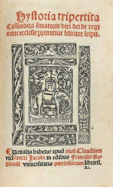 EUSEBE DE CESAREE Historia ecclesiastica...