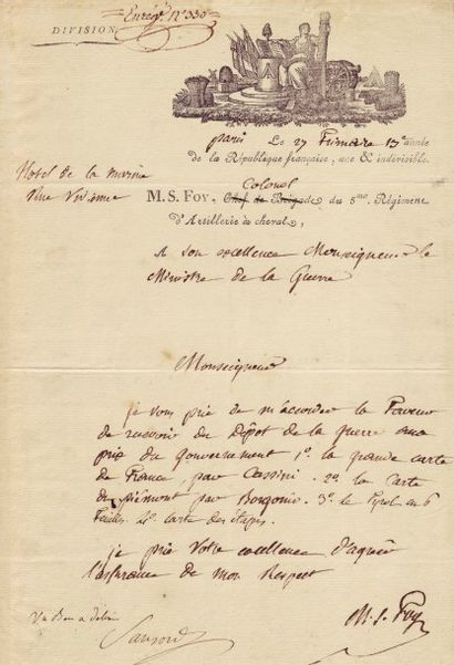 FOY MAXIMILIEN SÉBASTIEN (1775-1825)