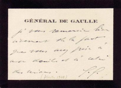 GAULLE, CHARLES DE (1890-1970)