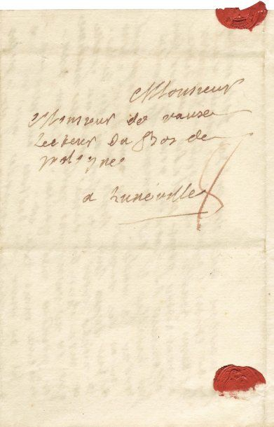 GRAFFIGNY, FRANÇOISE D'ISSEMBOURG D'HAPPONCOURT, DITE MME DE (1695- 1758)