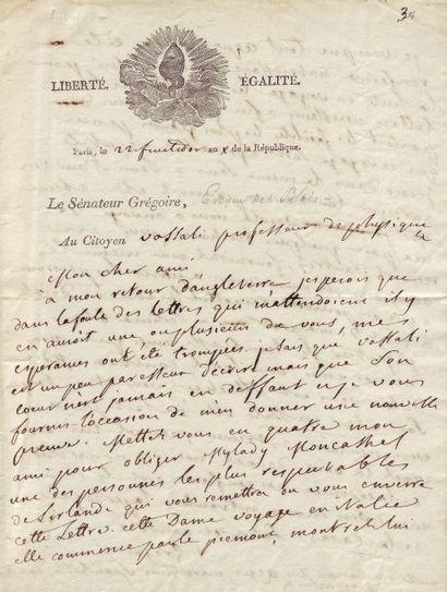 GRÉGOIRE HENRI, DIT L'ABBÉ (1750-1831)