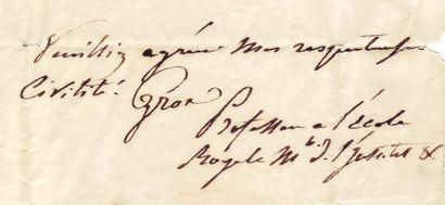 GROS, ANTOINE-JEAN GROS, DIT LE BARON (1771-1835)