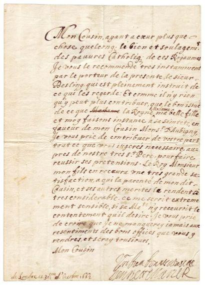 HENRIETTE MARIE DE FRANCE (1609-1669)
