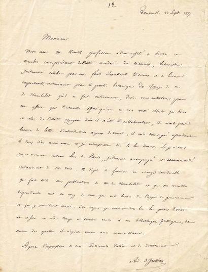 JUSSIEU, ADRIEN DE (1797-1853)