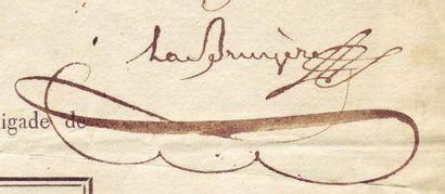 LA BRUYÈRE, ANDRÉ ADRIEN JOSEPH DE (1768-1808)