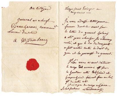 LANDREMONT CHARLES-HYACINTHE LECLERC de (1739-1818)