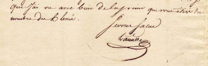 [Egypte] LANUSSE FRANÇOIS (1772-1801)