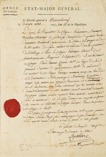 LAUBADÈRE, JOSEPH-MARIE TENNET DE (1745-1809)