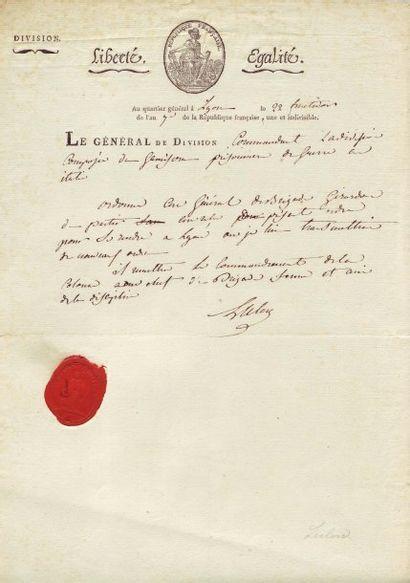 LECLERC VICTOR-EMMANUEL (1772-1802)