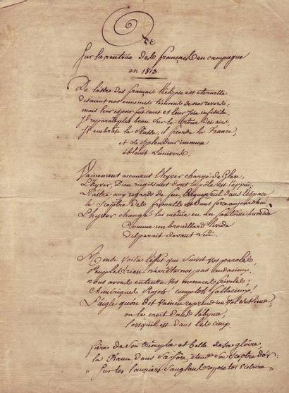 BARJAUD JEAN-BAPTISTE (1785-1813)