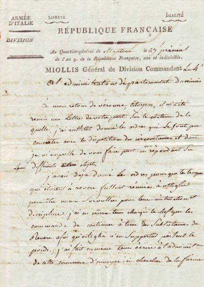 MIOLLIS SEXTIUS ALEXANDRE FRANÇOIS (1759-1828)