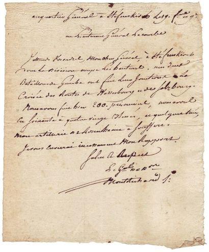 MONTRICHARD, JOSEPH PERRUQUET DE (1760-1828)