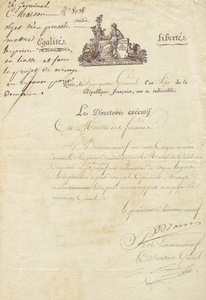 BARRAS PAUL (1755-1829)