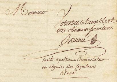 BAUMÉ ANTOINE (1728-1804)