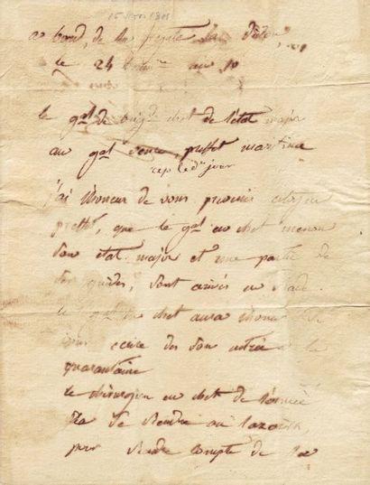 [Egypte] RENÉ JEAN (1768-1809)