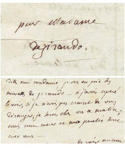 STAËL, GERMAINE NECKER DE (1766-1817)