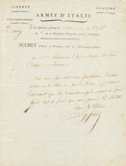 SUCHET LOUIS-GABRIEL (1772-1826)