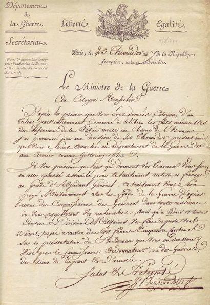 BERNADOTTE JEAN (1763-1844)
