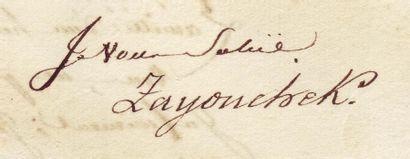 ZAYONCHEK JOSEPH (1762-1826)