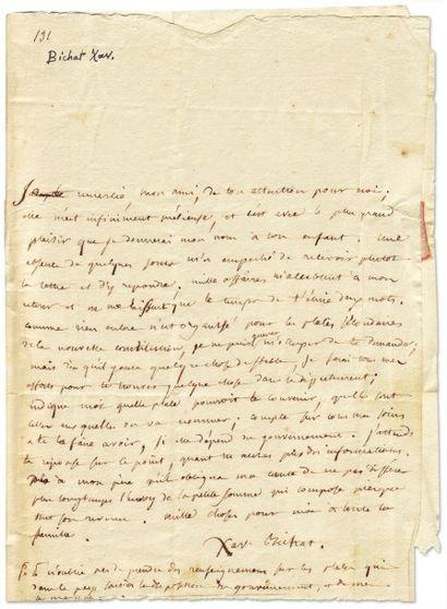 BICHAT XAVIER (1771-1802)