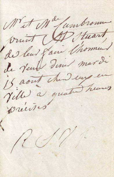 CAMBRONNE PIERRE-JACQUES-ETIENNE (1770-1842)