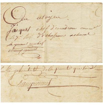 CHAMPIONNET, JEAN-ETIENNE VACHIER, DIT (1762-1800)
