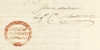 CHASSELOUP-LAUBAT, FRANÇOIS CH. L. DE (1754-1833)