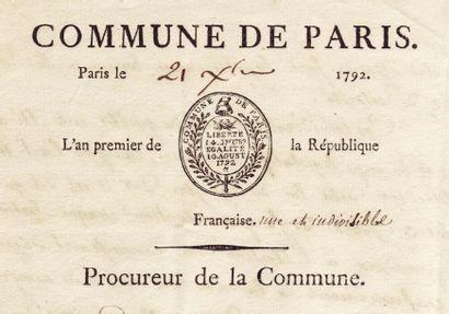 CHAUMETTE PIERRE GASPARD (1763-1794)