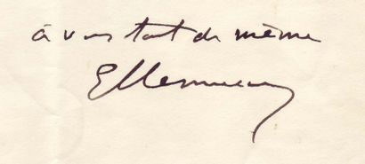 CLÉMENCEAU GEORGES (1841-1929)