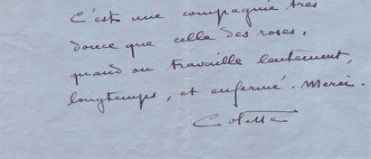 COLETTE, SIDONIE GABRIELLE COLETTE, DITE (1873-1954)