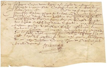 COUSINOT JACQUES (1585-1646)