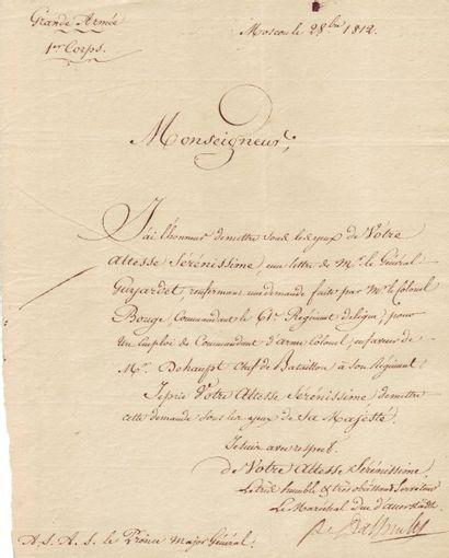 DAVOUT LOUIS (1770-1823)