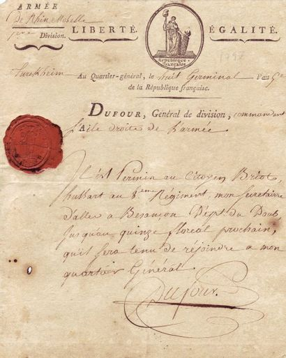 DUFOUR GEORGES JOSEPH (1758-1820)