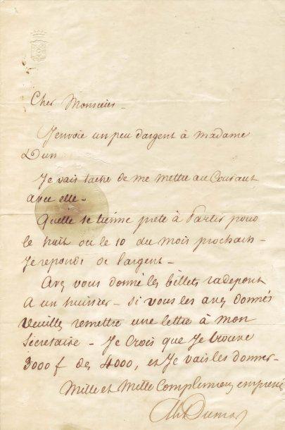 DUMAS PÈRE, ALEXANDRE (1802-1870)