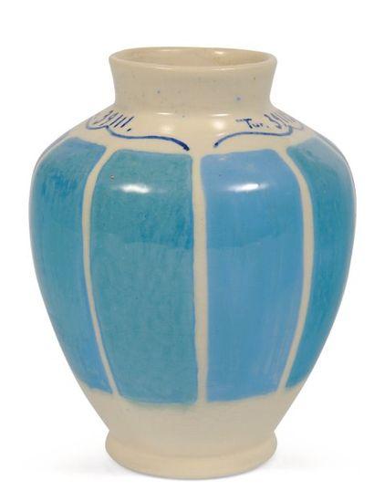 Vase échantillon pour le bleu turquoise....