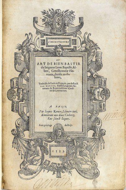 ALBERTI, Leon Battista.