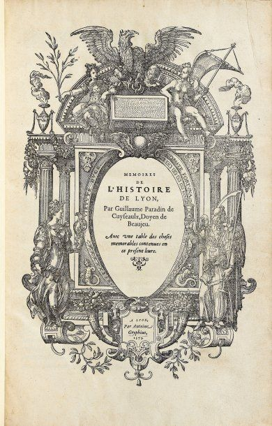 PARADIN DE CUYSEAULX, Guillaume.