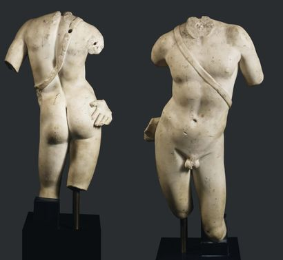 Statue d'Apollon. Inspirée probablement d'une...