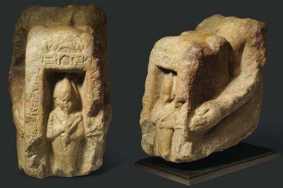 Statue naophore au nom de Padihor-resnet....