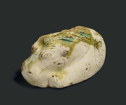 Rare statuette représentant un hippopotame....