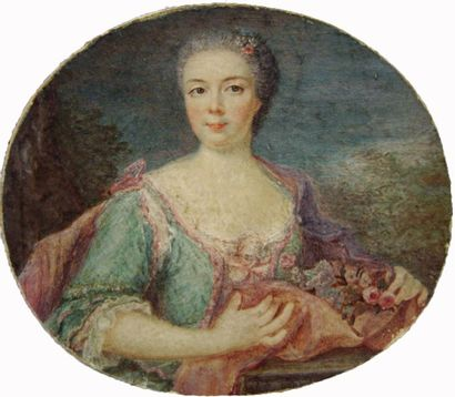 École française vers 1760.