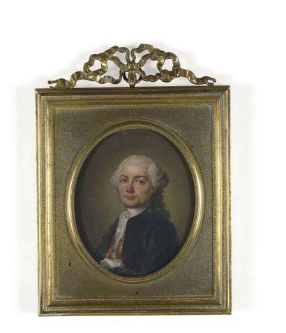 Jean -Baptiste PERRONNEAU (1715 - 1783) (attribué à).