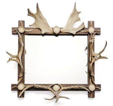 Miroir de forme rectangulaire à décor de...